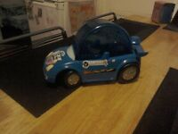 Hamster ball/car