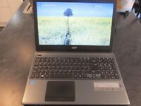 Acer Aspire 15.6'' laptop Intel i3 3217U, 1tb hdd,8gb RAM