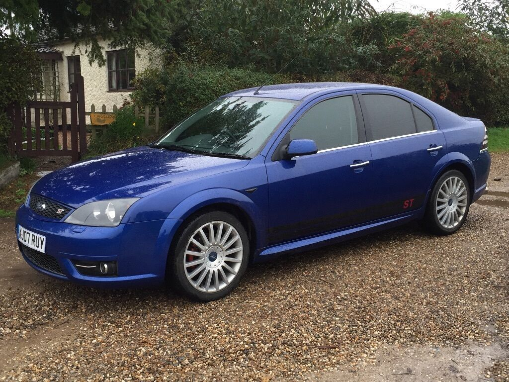 2007 07 plate ford mondeo st tdci in metallic blue 2 2 diesel with 6 speed manual gearbox in. Black Bedroom Furniture Sets. Home Design Ideas