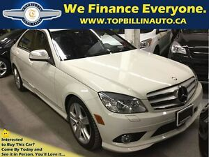 2009 Mercedes-Benz C-Class 4Matic, Only 68, 000 Kms with Sunroof