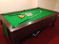 Pool Table (Slate bed)