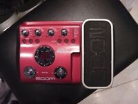 Zoom B2.1u Bass effect pedal.