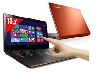 Lenovo IdeaPad U330 4th Gen Core i7 500GB HDD 8GB RAM win 10 Touch