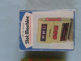 Vintage/Retro Waco battery operated slot machine very good condition *Boxed*