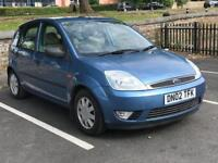 2002 FORD FIESTA 1.4 5 DOOR GHIA *IDEAL FIRST CAR *BARGAIN* *MOT* *PX* *NATIONWIDE DELIVERY*