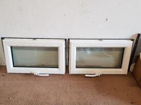 Small top opening double glazed window sash