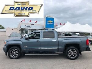 2014 GMC Sierra 1500 SLT CREW 4WD ALL TERR/ LEATHER/ SUNROOF/ 20