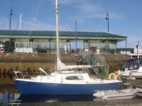 Vivacity 24 yacht, sailing boat