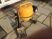 DIY cement mixer for sale; electric; compact