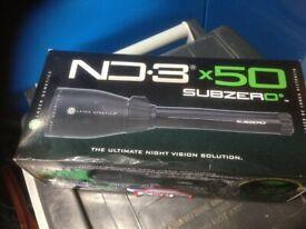 shooting gun light ND 3X50 SUBZERO