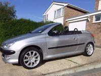 Peugeot 206 CC (Cabriolet) 2.0 16v Petrol (Spares/Repairs)