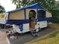 Folding Caravan Conway Cruiser six berth with Remote Control Mover and many extras