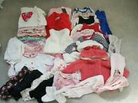 Girls Clothes Bundle 0-3Mth