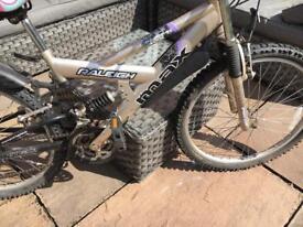 Raleigh max teenage bike