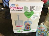 Fill and squeeze weening kit