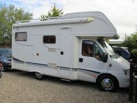 2006 (56) FIAT DUCATO MOTORHOME SHOWER TOILET BED FRIDGE PRISTINE 10,000 Part exchange available