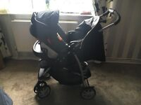 Graco travel system/ pram with car seat