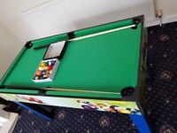 Walker & Simpson 4ft 13 in 1 Games Table, pool table tennis, air hockey, basket ball, Table Football