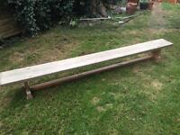 Old school gym bench £45 ono