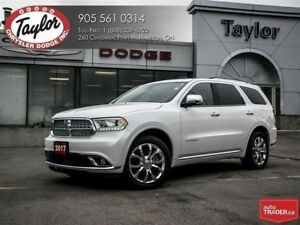 2017 Dodge Durango Citadel V6 w/Navi, Sunroof, Tech Group, Low K