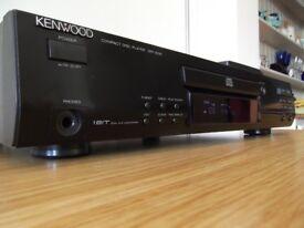 KENWOOD DPF-2030 QUALITY CD PLAYER DUAL 1 BIT DAC