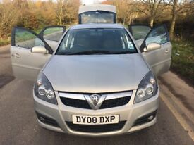 2008 VAUXHALL VECTRA 1.9 PETROL 5dr, 1 Owner