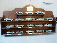 Danbury Mint Pewter Classic sports Cars full collection