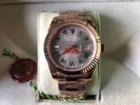 Swiss Rolex Datejust Wimbledon Automatic Watch 1