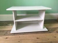 White TV Stand