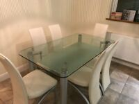 6chairs And table for sale