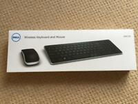 Dell wireless keyboard and mouse, unopened