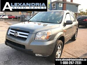 2007 Honda Pilot EX-L navi leather sunroof DVD cert & e test