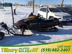2000 ARCTIC CAT Z1 ZLT 600 -- TRIPLE
