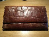 Old Style Leather Travel Wallet