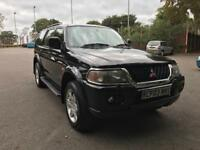 MITSUBISHI SHOGUN SPORT WARRIOR 3.0 DIESEL V6 AUTOMATIC LPG CONVERTED 2 OWNERS SUPERB INSIDE/OUT!!