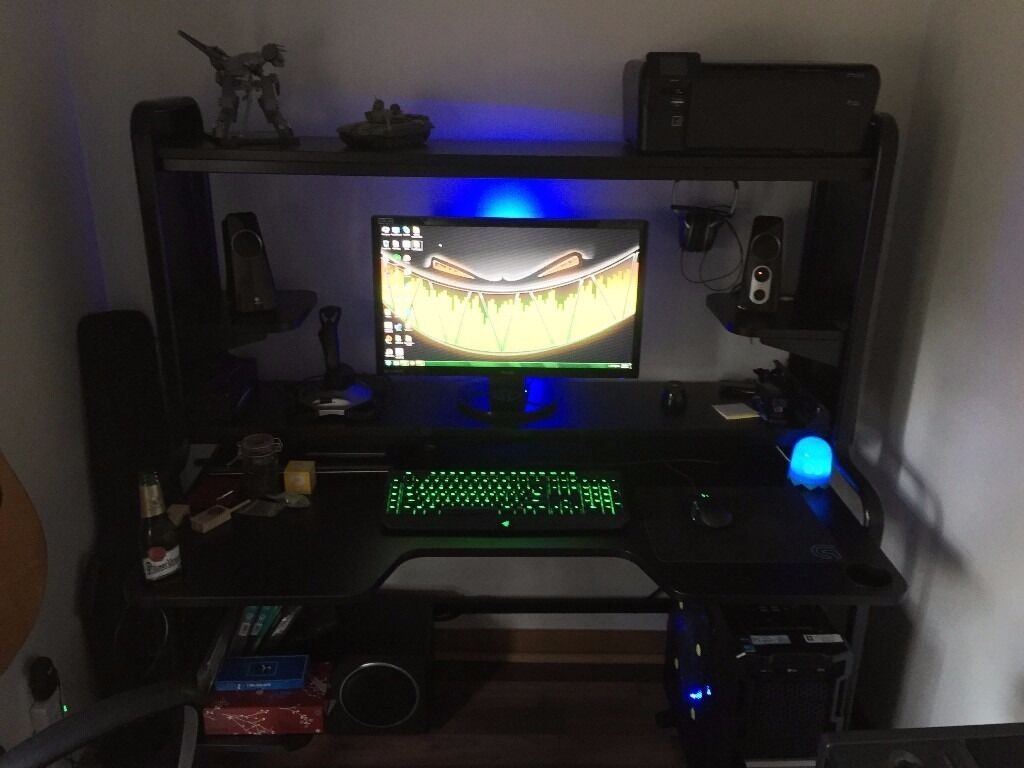 Ikea fredde workstation excellent for gaming creative work in