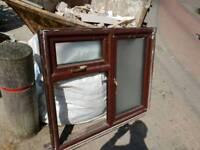 Upvc double glazed window shed reuse