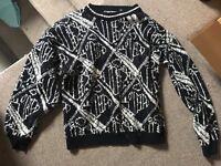 Unisex vintage retro oversize jumper