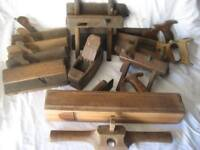 old wooden tools