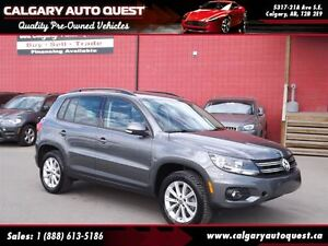 2014 Volkswagen Tiguan 2.0T 4-MOTION AWD/PANOROOF/LEATHER