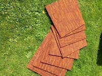 Carpet tiles x8