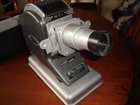 Vintage Bell & Howell slide projector No. 24. working order.