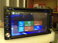 MINT CONDITION DOUBLE DIN 6.2 CAR DVD PLAYER+GPS ANTENNA+BLUETOOTH ETC+SD CARD READER+USB READER