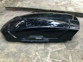 Thule Force XT 400 liter roof box -- Once used!