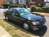 Lexus LS400, 12 Months MOT, Full Service History, One Owner since 1999