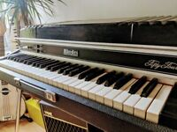 Fender Rhodes Piano Rare Fifty Four Stage 54 Suitcase with Wurlitzer Sound