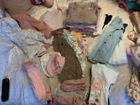 Bundle of baby girl clothes 3-6