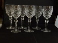 Waterford Crystal Powerscourt Glasses X 6