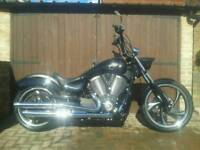 Victory vegas 8 ball high ball custom chopper