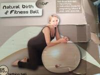 Birthing and fitness ball 65cm